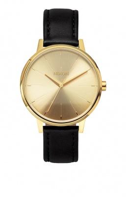 Nixon Kensington Leather - Gold - one size