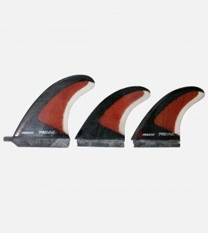 FANATIC SUP Fin Pro Wave Finset 3pcs - -